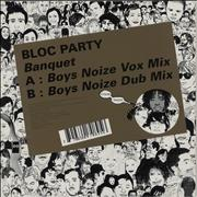 Click here for more info about 'Bloc Party - Banquet (Boys Noize Remixes)'