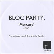 Click here for more info about 'Bloc Party - Mercury'