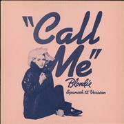 Click here for more info about 'Blondie - Call Me (Spanish Version)'