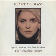 "Blondie Heart Of Glass UK 7"" vinyl Promo"