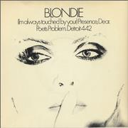 Click here for more info about 'Blondie - (I'm Always Touched By Your) Presence, Dear - 4pr - P/S'