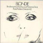 Click here for more info about 'Blondie - I'm Always Touched By Your Presence Dear - EX'