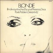 Click here for more info about 'Blondie - (I'm Always Touched By Your) Presence, Dear - Inj - P/S'