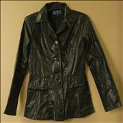 Click here for more info about 'No Exit - Leather Effect Jacket'