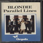 Click here for more info about 'Blondie - Parallel Lines - Blue Bordered Sleeve'