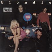 Click here for more info about 'Blondie - Plastic Letters - Stickered sleeve'