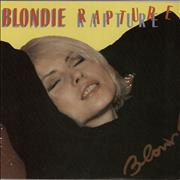 Click here for more info about 'Blondie - Rapture'