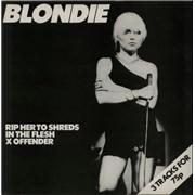 "Blondie Rip Her To Shreds - 1st UK 12"" vinyl"
