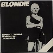 "Blondie Rip Her To Shreds - 3rd UK 12"" vinyl"