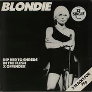 Click here for more info about 'Blondie - Rip Her To Shreds'
