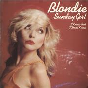 Click here for more info about 'Blondie - Sunday Girl - Wide-centred + P/S'