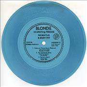 Click here for more info about 'Blondie - Yuletown Throw Down - Blue Flexi'