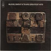 Click here for more info about 'Blood Sweat & Tears - Greatest Hits - Promo stickered'