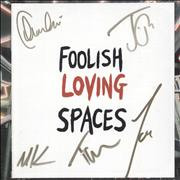 Click here for more info about 'Foolish Loving Spaces + Autographed Booklet - Sealed'
