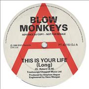 Click here for more info about 'Blow Monkeys - This Is Your Life (Long)'