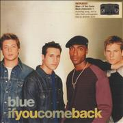 Click here for more info about 'Blue (00s) - If You Come Back'