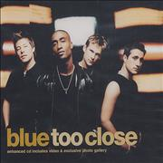 Click here for more info about 'Blue (00s) - Too Close'