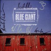 Click here for more info about 'Blue Giant - Blue Giant - Autographed'