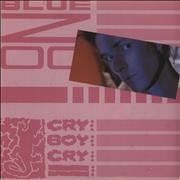 Click here for more info about 'Blue Zoo - Cry Boy Cry - P/s'