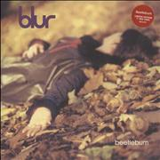 Click here for more info about 'Blur - Beetlebum - Red Vinyl - EX'