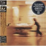 Blur Blur Japan SHM CD