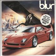 Click here for more info about 'Blur - Chemical World - Red Vinyl + Stickered sleeve'