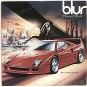 """Blur Chemical World - Red Vinyl UK 7"""" vinyl"""