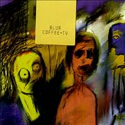 Click here for more info about 'Blur - Coffee + Tv - Sticker Sealed'
