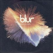 Blur Death Of A Party UK CD single Promo