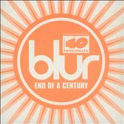 Blur End Of A Century Spain CD single Promo