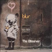 Click here for more info about 'Blur - Exclusive 5 Track CD - The Observer'