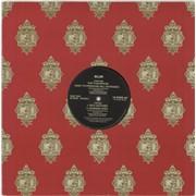 "Blur For Tomorrow UK 12"" vinyl Promo"