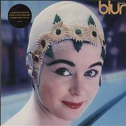 Click here for more info about 'Blur - Leisure - Turquoise Vinyl - Sealed'