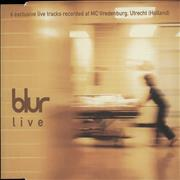 Click here for more info about 'Blur - Live - 6 Exclusive Live Tracks Recorded At Utrecht'