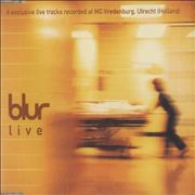 Click here for more info about 'Blur - Live'