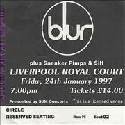 Click here for more info about 'Blur - Liverpool Royal Court'