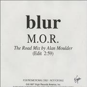 Click here for more info about 'Blur - M.O.R. - Alan Moulder Road Mix'