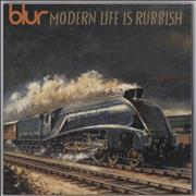 Click here for more info about 'Blur - Modern Life Is Rubbish - 180gram Vinyl'