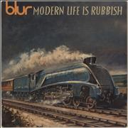 Click here for more info about 'Blur - Modern Life Is Rubbish'