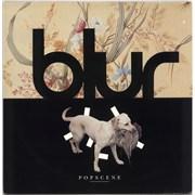 """Blur Popscene - EX UK 12"""" vinyl"""