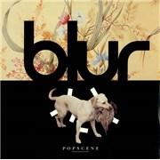 """Blur Popscene UK 12"""" vinyl"""