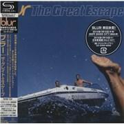 Blur The Great Escape Japan SHM CD
