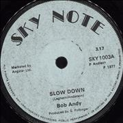 Click here for more info about 'Bob Andy - Slow Down'