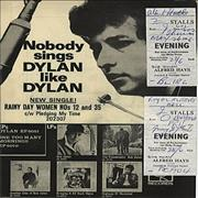 Click here for more info about 'Bob Dylan - 1966 Royal Albert Hall Programme - With Stubs'