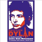 Click here for more info about 'Bob Dylan - 1998 Tour Poster - Paris'