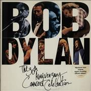 Bob Dylan 30th Anniversary Concert Celebration Netherlands 3-LP vinyl set