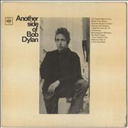 Bob Dylan Another Side Of Bob Dylan - 1st - VG UK vinyl LP