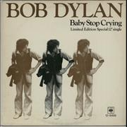 Click here for more info about 'Bob Dylan - Baby Stop Cryin''