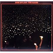 Bob Dylan Before The Flood - Graduated Orange Label UK 2-LP vinyl set
