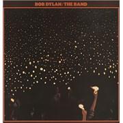 Bob Dylan Before The Flood - Red Label UK 2-LP vinyl set